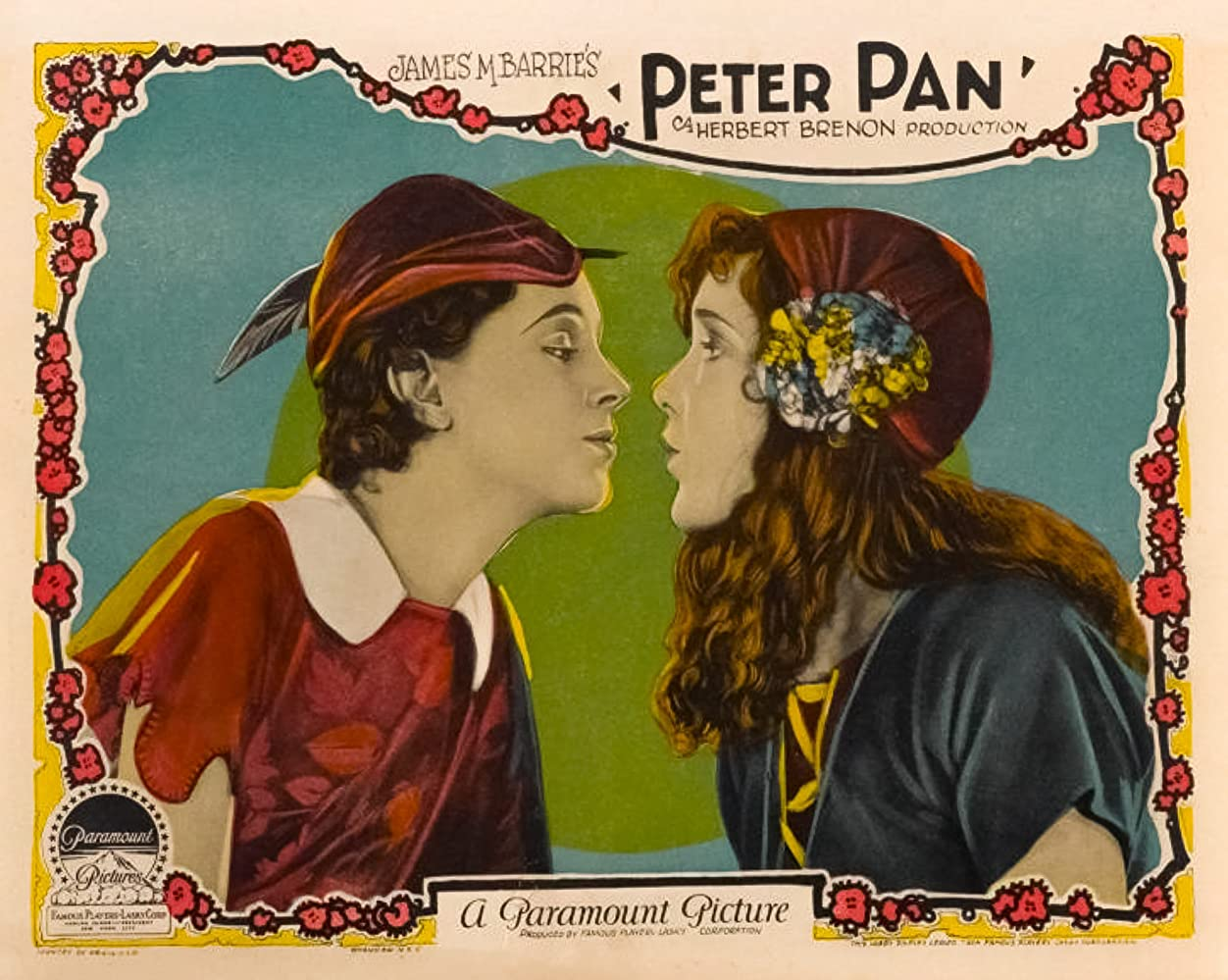 Image result for peter pan 1924 lobby cards