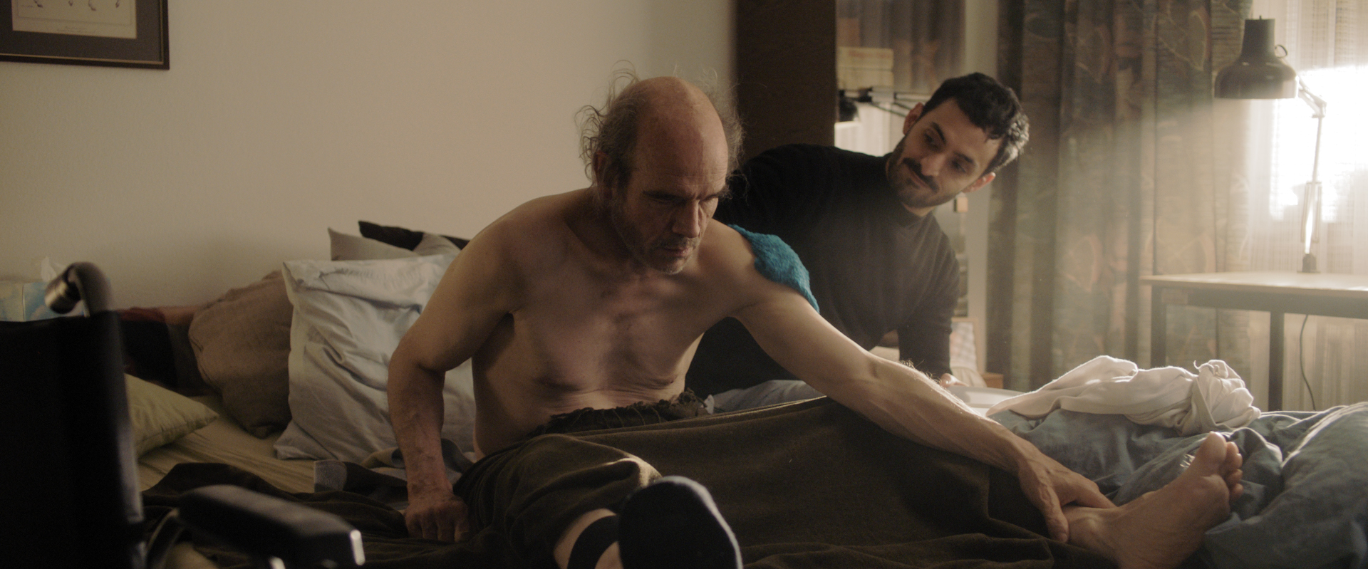 Manfred Liechti and Alireza Bayram in Eating the Silence (2021)