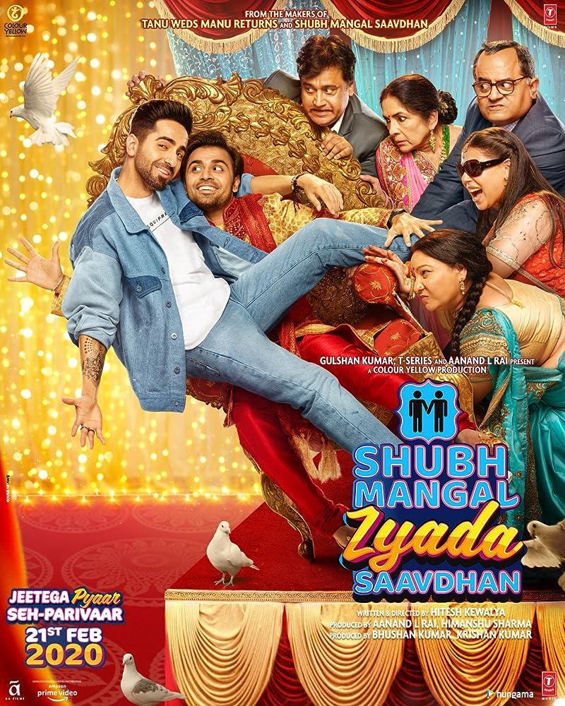Shubh Mangal Zyada Saavdhan 2020 Hindi 400MB HDRip 480p ESubs
