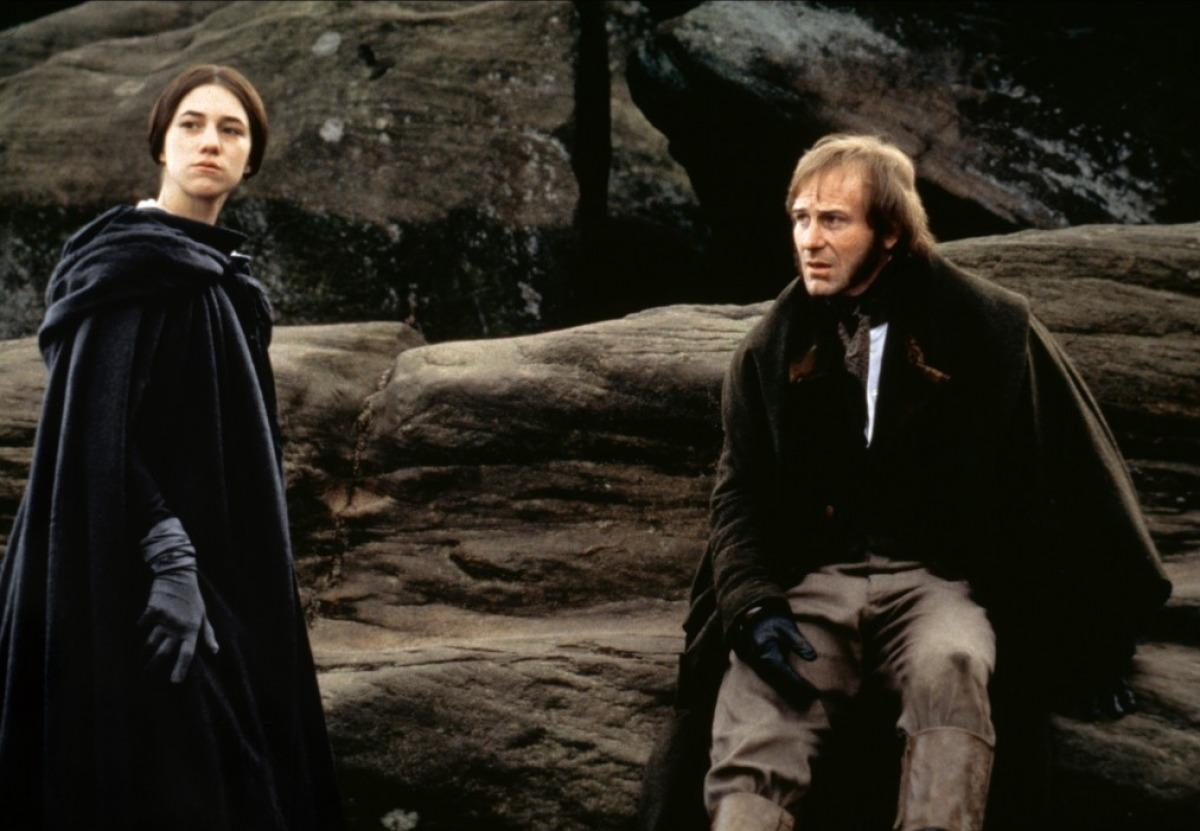 William Hurt and Charlotte Gainsbourg in Jane Eyre (1996)