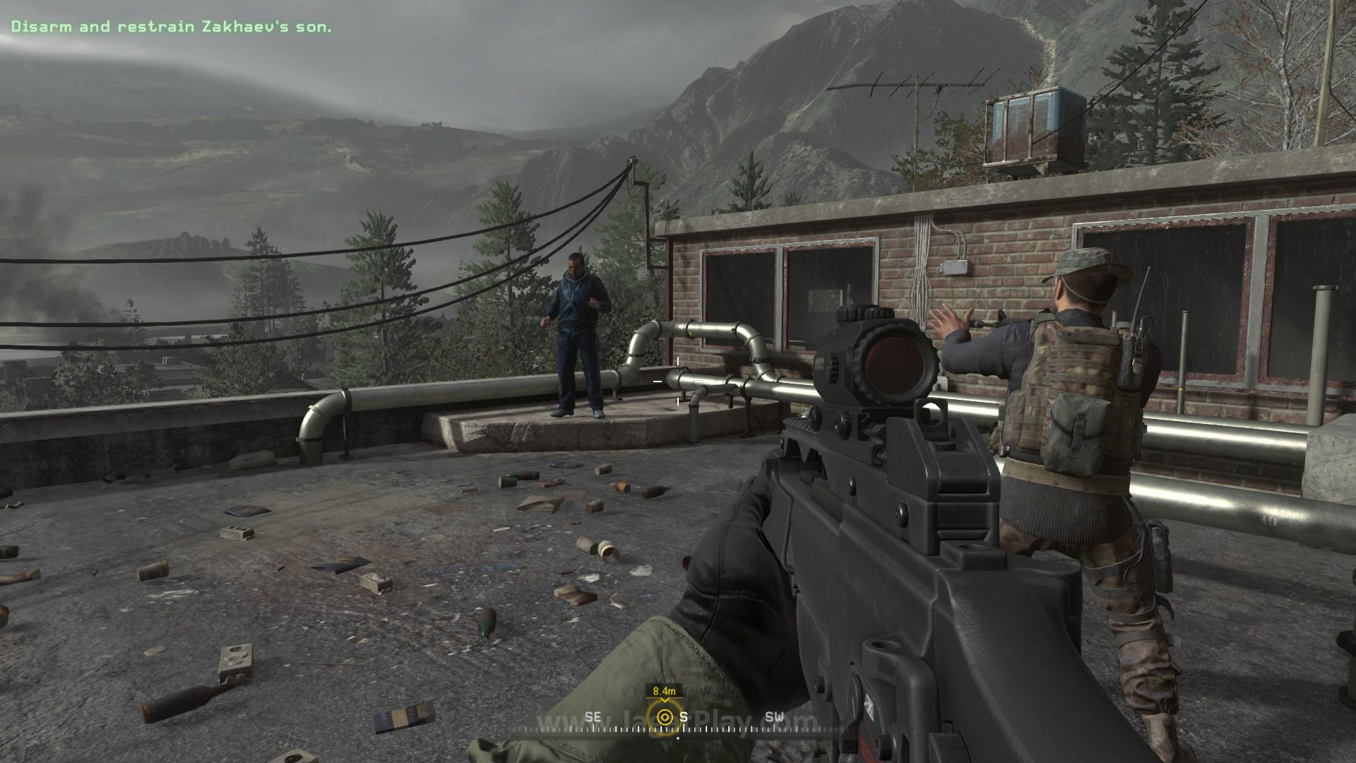 Billy Murray in Call of Duty: Modern Warfare Remastered (2016)