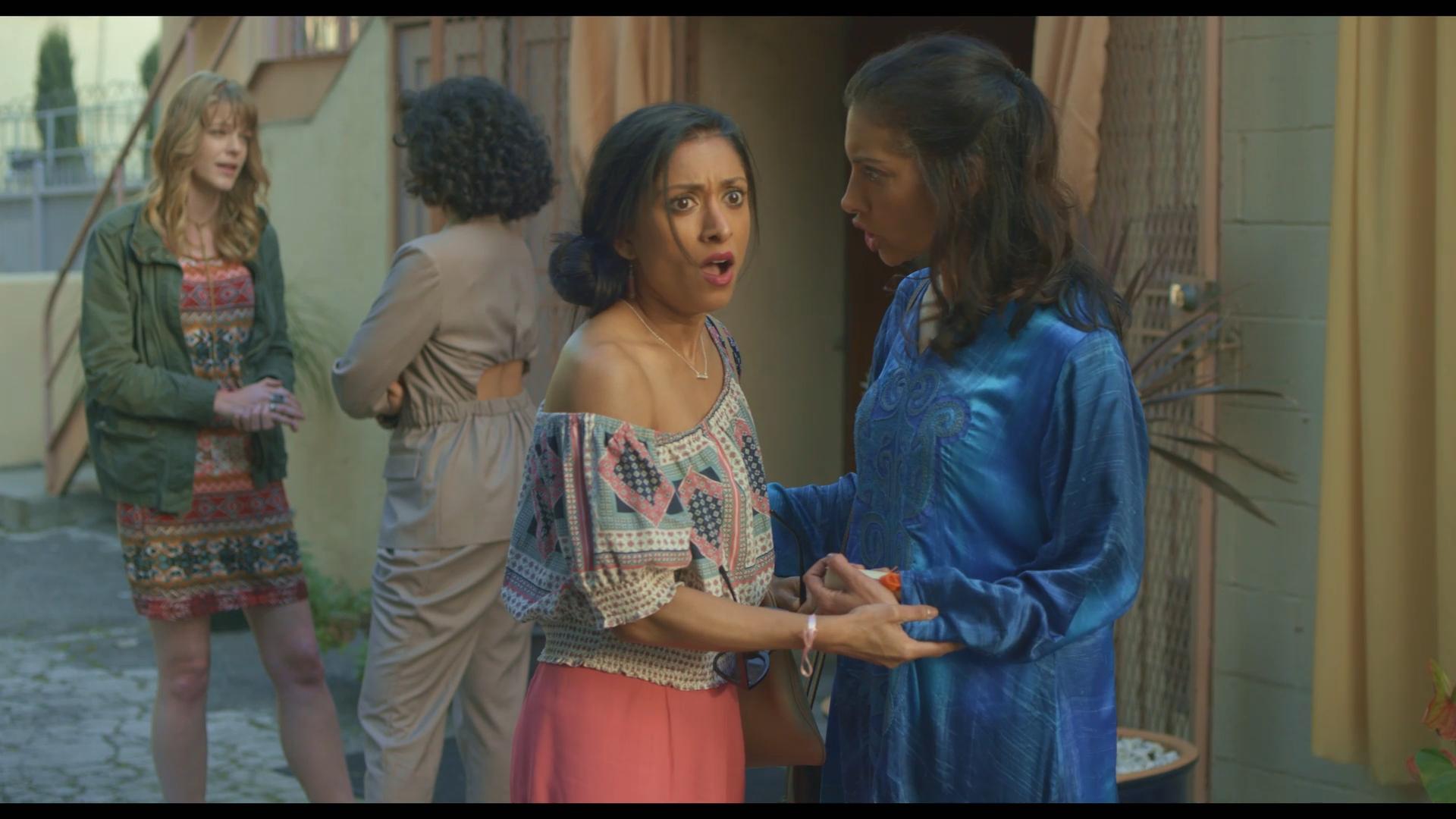 Veena Bidasha, Callie Schuttera, Nazanin Mandi, and Lovlee Carroll in The Last Conception (2020)