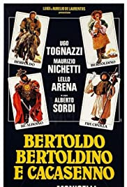 Bertoldo, Bertoldino, and Cascacenno Poster