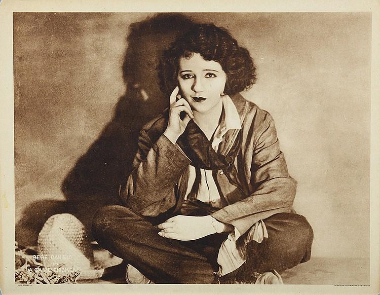 Bebe Daniels in A Game Chicken (1922)