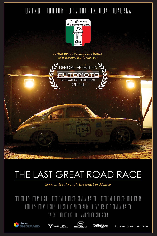 La Carrera Panamericana Mexico 2017 Car Racing Poster