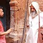 Amitabh Bachchan and Shoojit Sircar in Gulabo Sitabo (2020)