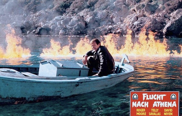 Roger Moore in Escape to Athena (1979)