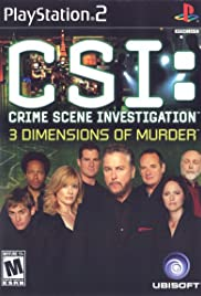 CSI: 3 Dimensions of Murder Poster