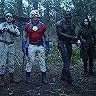 Idris Elba, John Cena, David Dastmalchian, and Daniela Melchior in The Suicide Squad (2021)