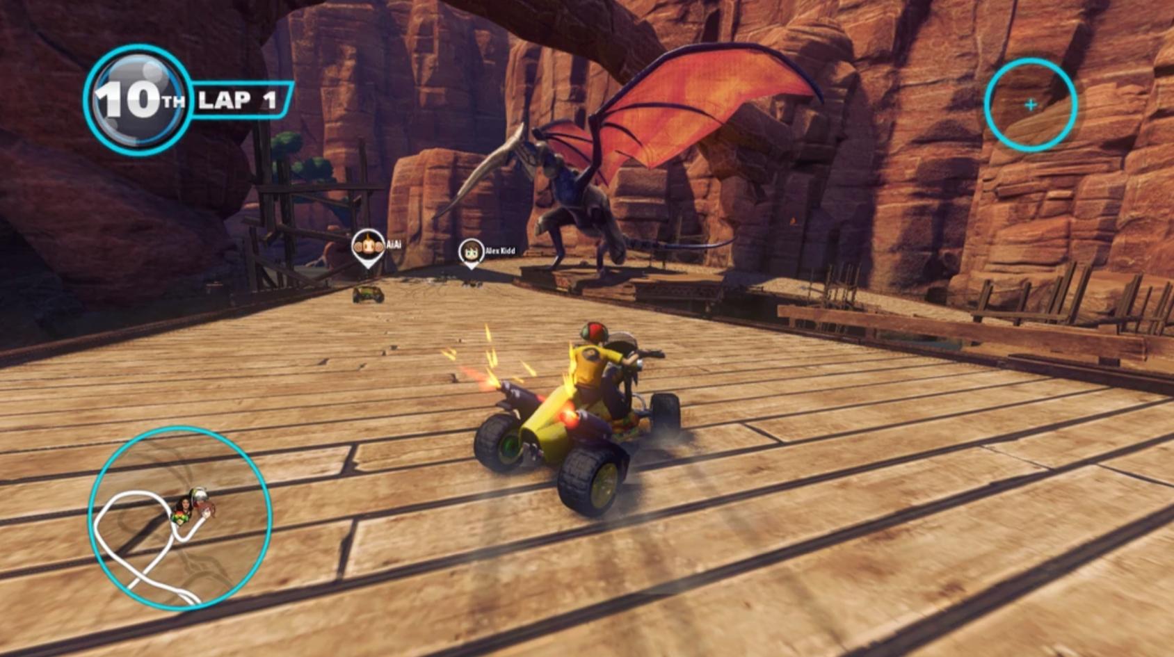 Sonic & All-Stars Racing Transformed (2012)