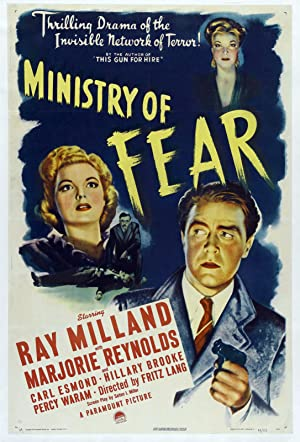 Where to stream Ministry of Fear
