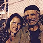"""Suzanne Sumner Ferry (""""Swallow"""") and Robert Miano (""""Wilco"""") on the set of the feature film Parasites directed by Chad Ferrin in Los Angeles, CA 7/2015."""