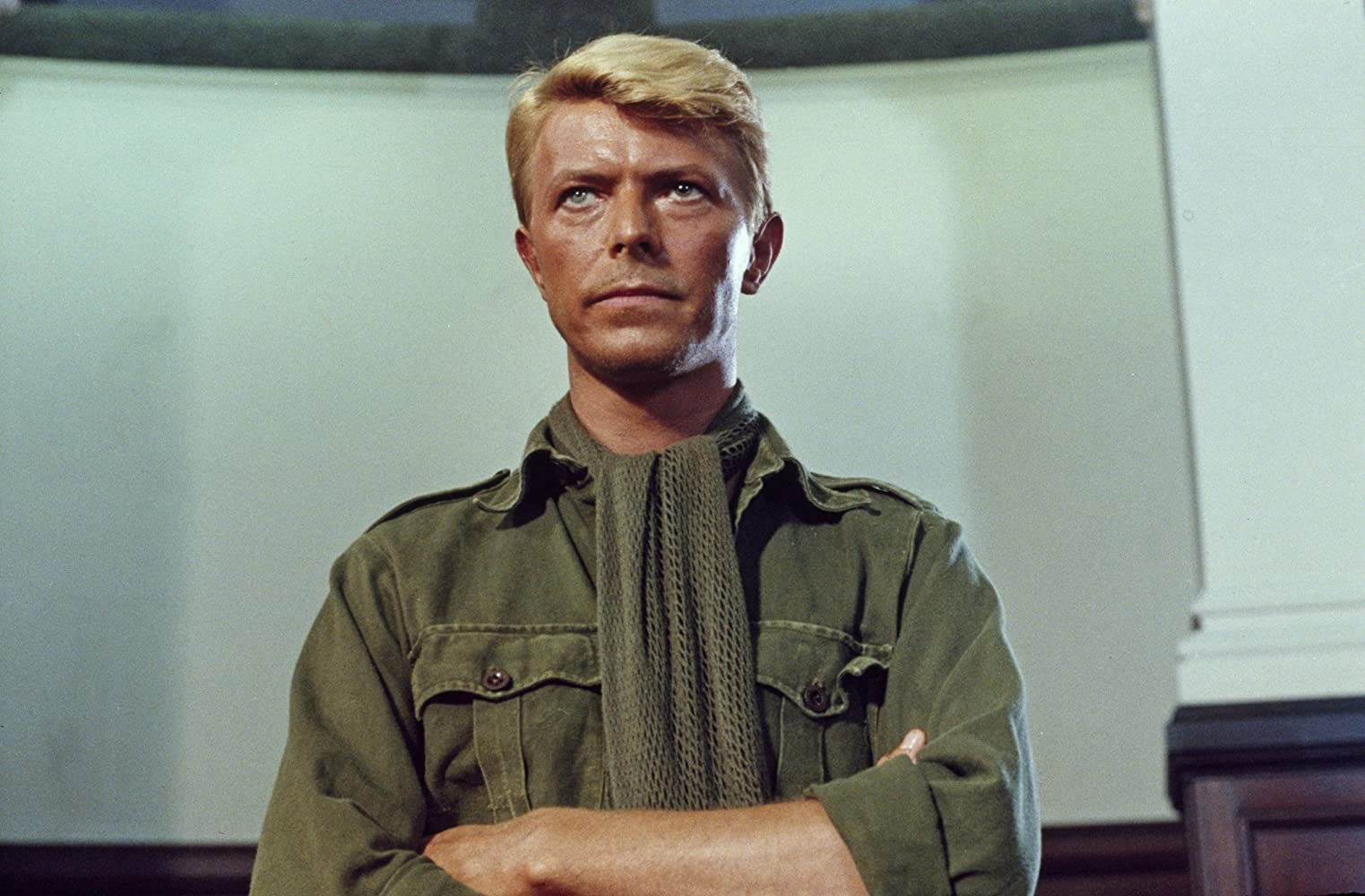 david bowie in merry christmas mr lawrence 1983 - David Bowie Christmas