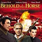 Gregory Peck, Anthony Quinn, and Omar Sharif in Behold a Pale Horse (1964)