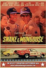 Richard Blake, Jesse Williams, Kim Shaw, and Ashley Hinshaw in Snake & Mongoose (2013)