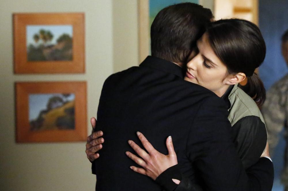 Clark Gregg and Cobie Smulders in Agents of S.H.I.E.L.D. (2013)