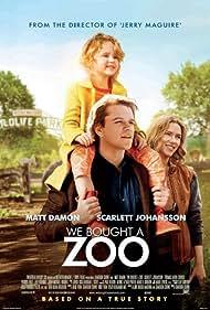 Matt Damon, Scarlett Johansson, and Maggie Elizabeth Jones in We Bought a Zoo (2011)