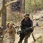 Julie Benz and Matthew Marsden in Rambo (2008)