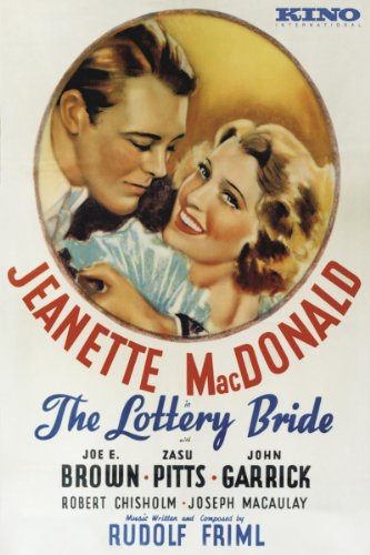 John Garrick and Jeanette MacDonald in The Lottery Bride (1930)