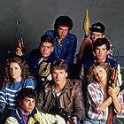 Charlie Sheen, Jennifer Grey, Patrick Swayze, Lea Thompson, C. Thomas Howell, Darren Dalton, Brad Savage, and Doug Toby in Red Dawn (1984)