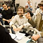 Steven Spielberg and Peter Jackson in The Adventures of Tintin (2011)