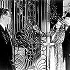 Rita Hayworth, Glenn Ford, and Mark Roberts in Gilda (1946)