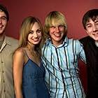Alex Frost, Carrie Finn, Nathan Tyson, and John Robinson at an event for Elephant (2003)