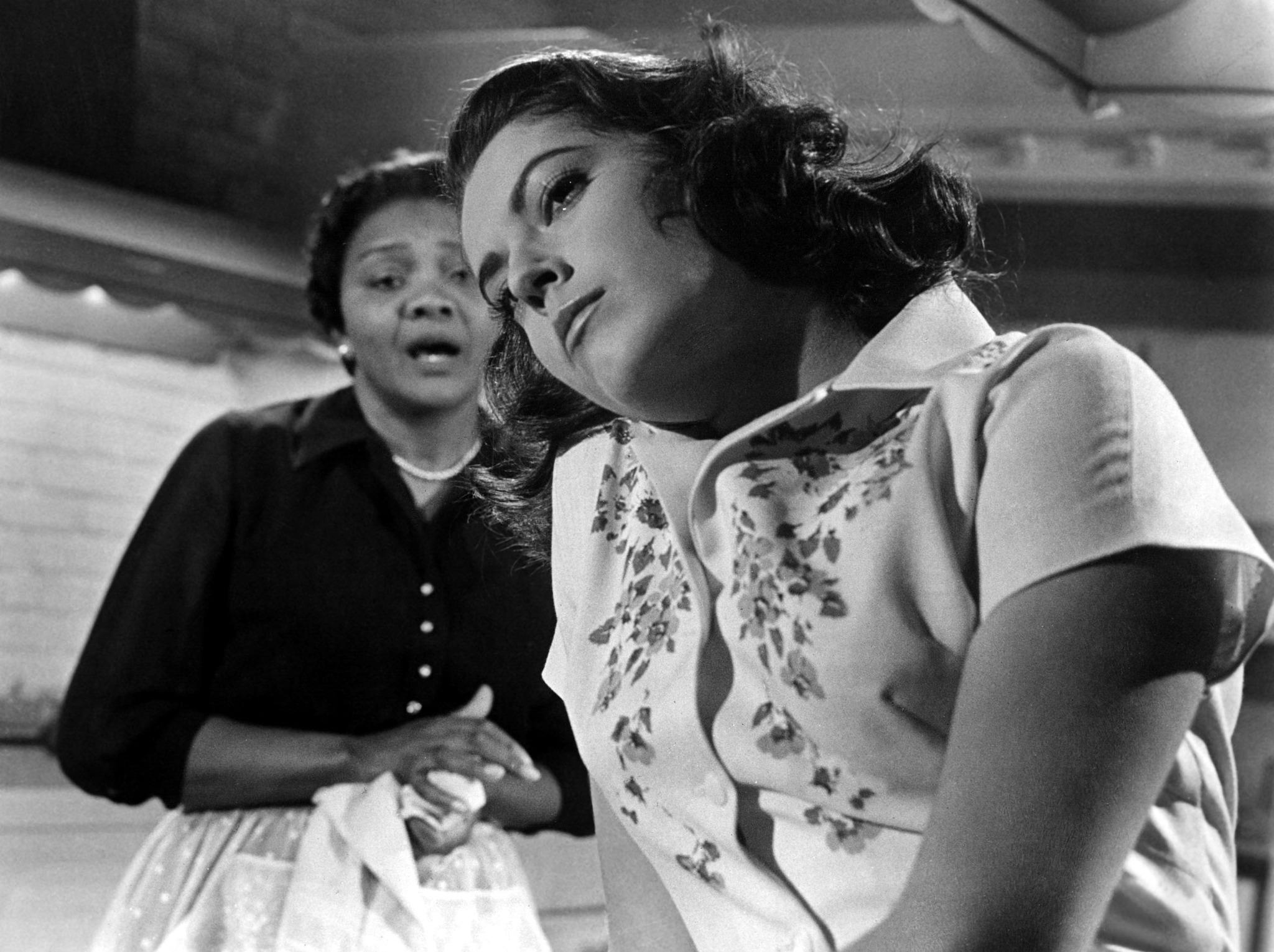 Susan Kohner and Juanita Moore in Imitation of Life (1959)