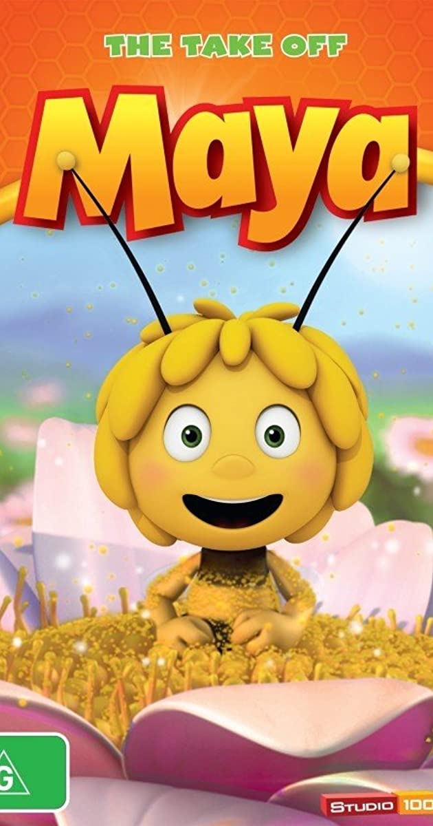 This is a graphic of Sweet Maya the Bee Image