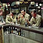 Frank Sinatra, Steve McQueen, Kipp Hamilton, and Richard Johnson in Never So Few (1959)
