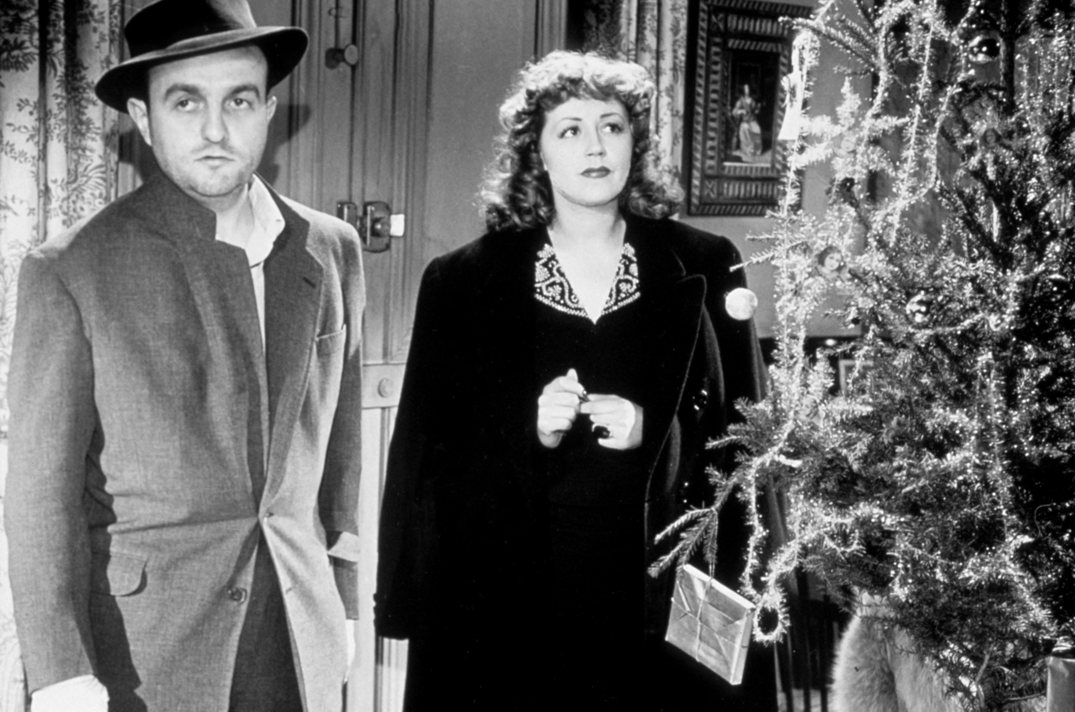 Bernard Blier and Suzy Delair in Quai des Orfèvres (1947)