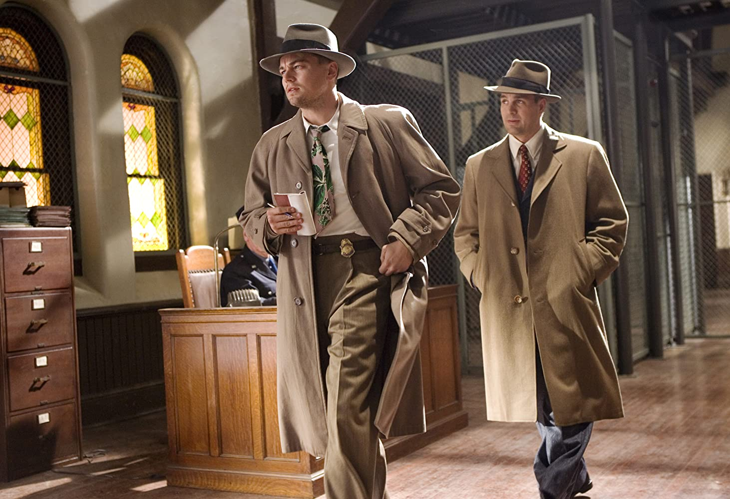 Leonardo DiCaprio and Mark Ruffalo in Shutter Island (2010)