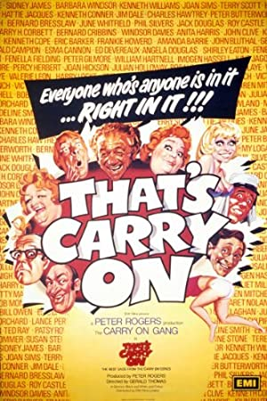 Where to stream That's Carry On!