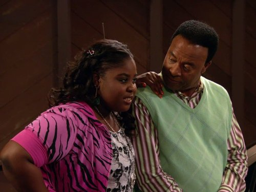 Raven Goodwin and William Allen Young in Good Luck Charlie (2010)