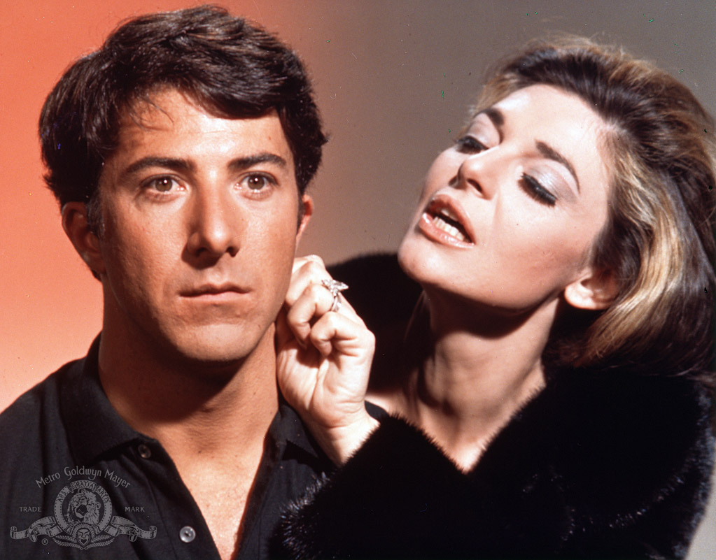Image result for the graduate stills dustin hoffman and anne bancroft stills