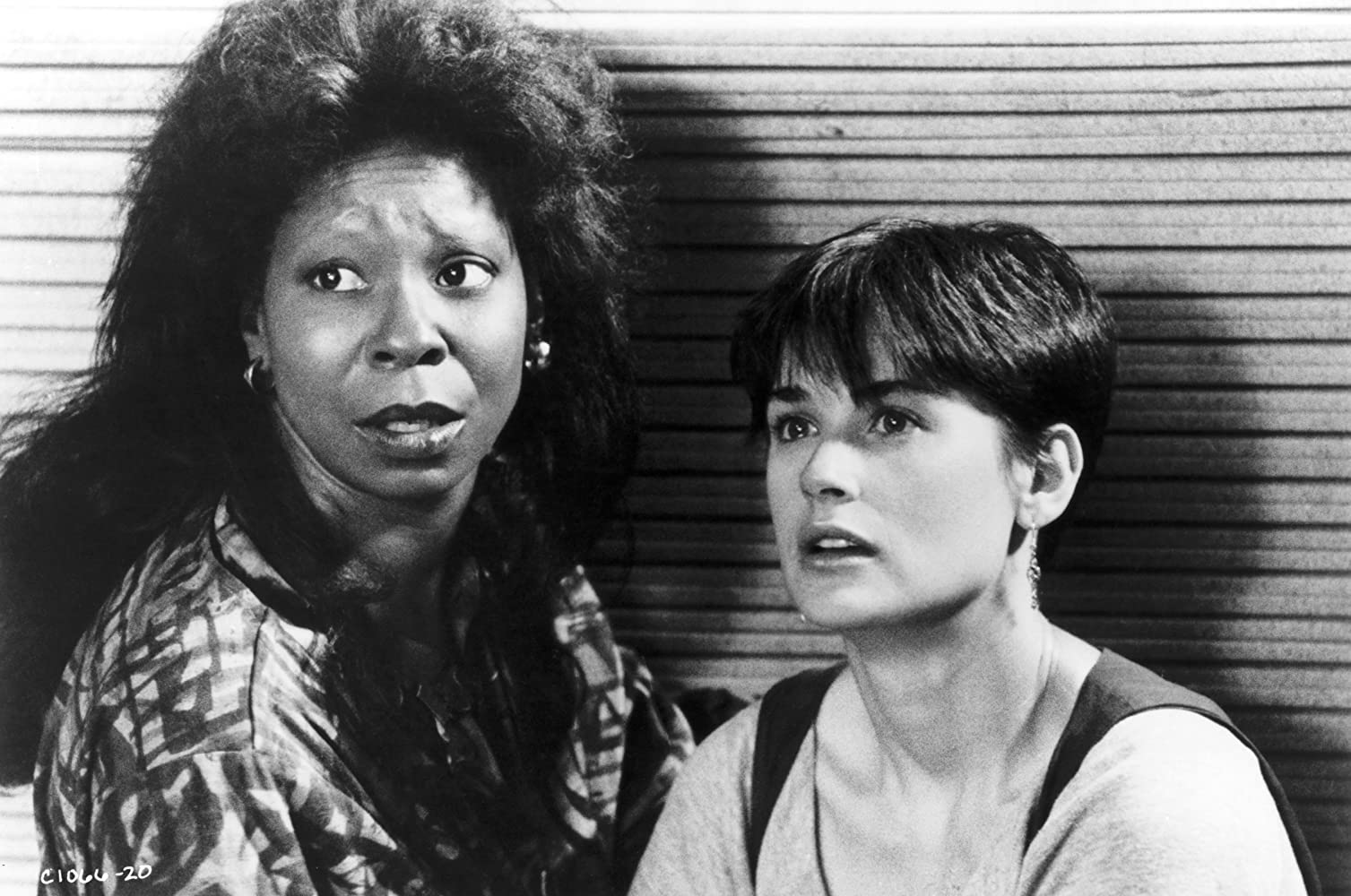 Whoopi Goldberg and Demi Moore in Ghost (1990)