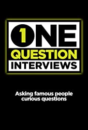 One Question Interviews Poster