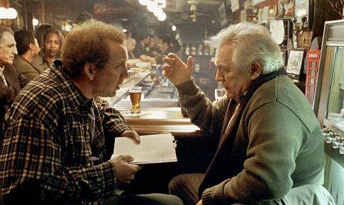 Nicolas Cage and Brian Cox in Adaptation. (2002)