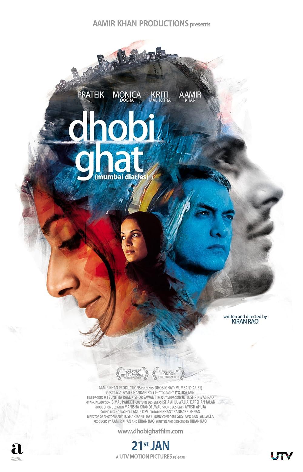 Dhobi Ghat 2010 Hindi Movie 480p BluRay ESub 334MB Download