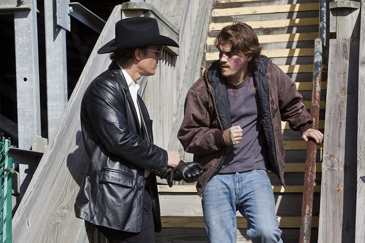 Matthew McConaughey and Emile Hirsch in Killer Joe (2011)