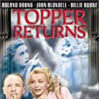 Joan Blondell, Carole Landis, and Roland Young in Topper Returns (1941)