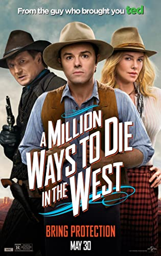 A Million Ways to Die in the West (2014) BluRay [Hindi – English] x264 AAC Esub