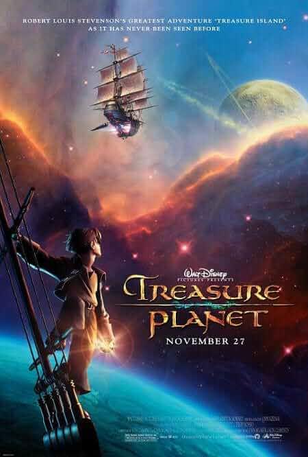 Treasure Planet 2002 Bluray Dual Audio Hindi 720p 550MB