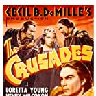 Katherine DeMille, Ian Keith, Joseph Schildkraut, Henry Wilcoxon, and Loretta Young in The Crusades (1935)