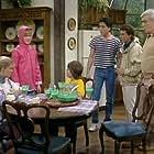 Scott Baio, Nicole Eggert, Josie Davis, and Alexander Polinsky in Charles in Charge (1984)