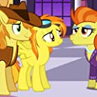 """Sidika Larbes as Stormy Flare (right) in """"My Little Pony Friendship is Magic"""""""
