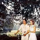 Lino Capolicchio and Dominique Sanda in Il giardino dei Finzi Contini (1970)