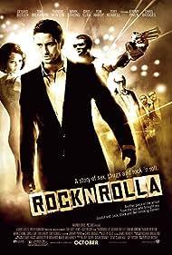 Gerard Butler, Ludacris, Thandiwe Newton, Tom Wilkinson, and Toby Kebbell in RocknRolla (2008)