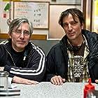 Paul Weitz and Nick Flynn in Being Flynn (2012)