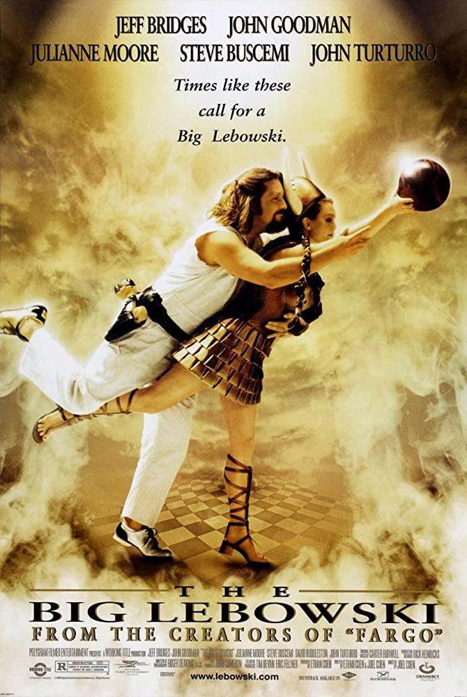 The Big Lebowski 1998 Dual Audio Hindi 450MB BluRay 480p ESubs